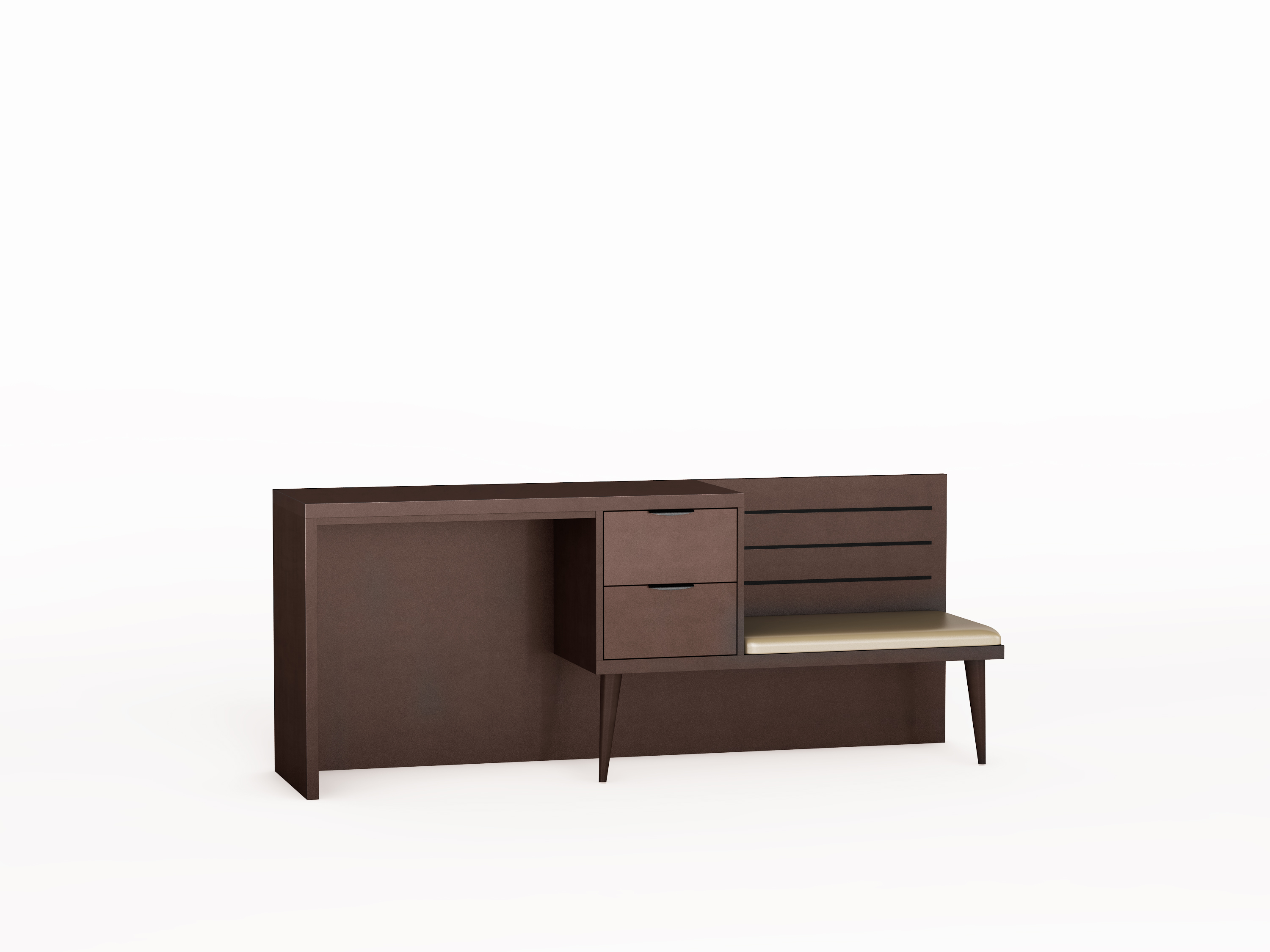 Luggage With Drawers Icon Furniture Sutton Desk Bench Combo