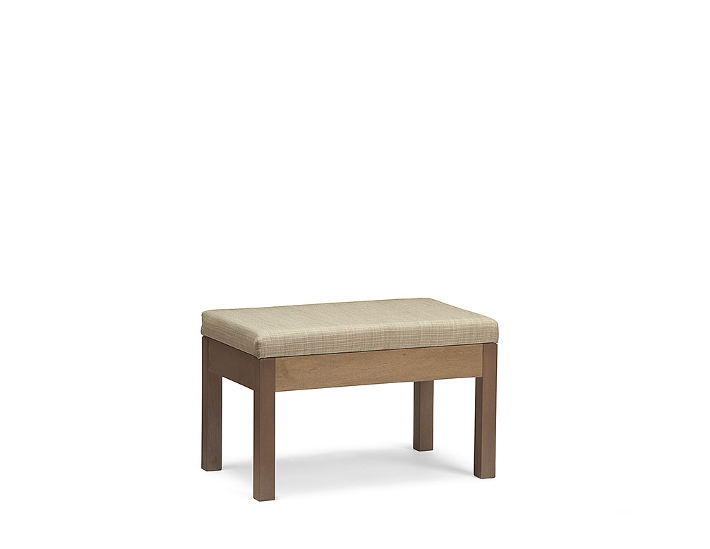 Hudson Luggage Bench with fabric - Icon Furniture – Hudson Upholstered Luggage Bench