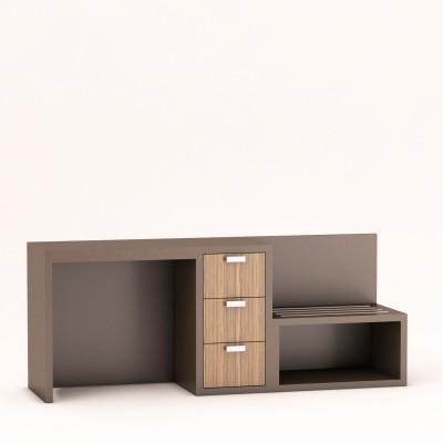 Icon Furniture Chelsea Wall Unit Media